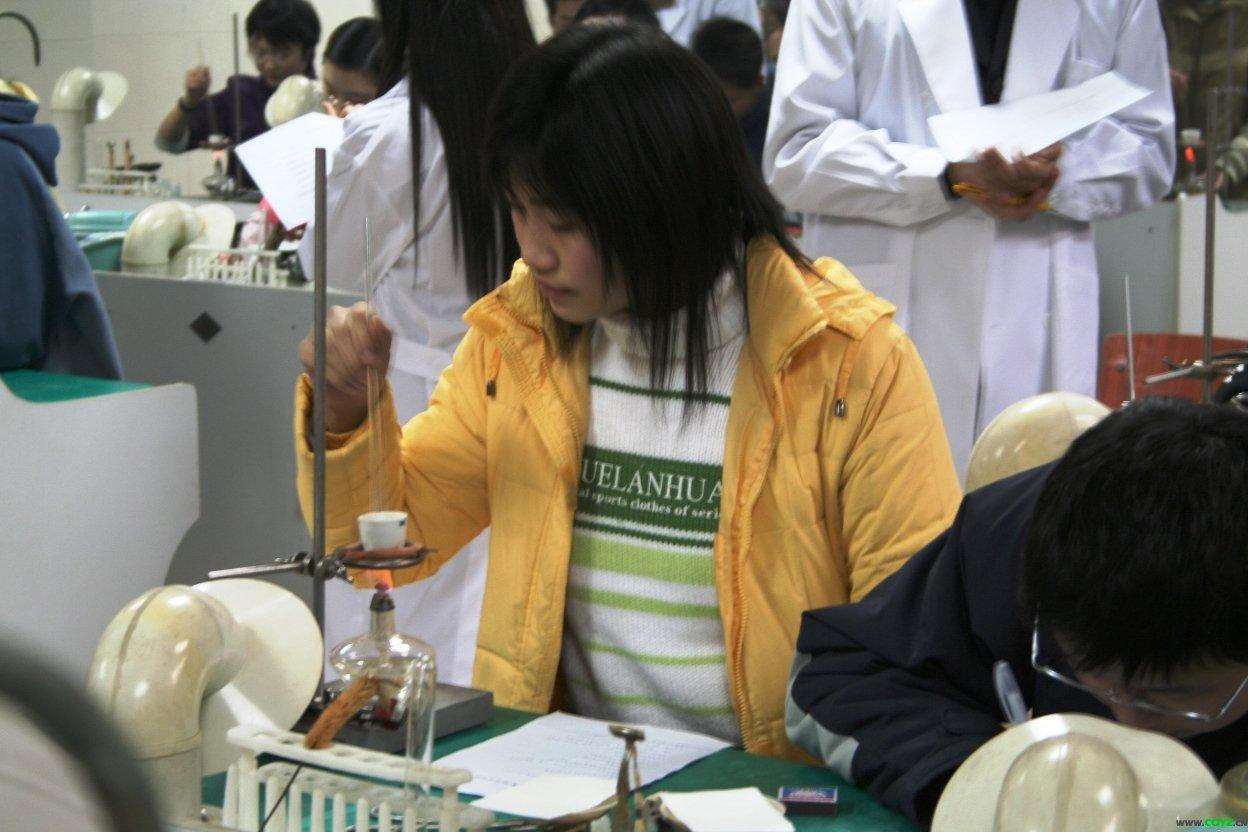 高一年级化学实验操作比赛