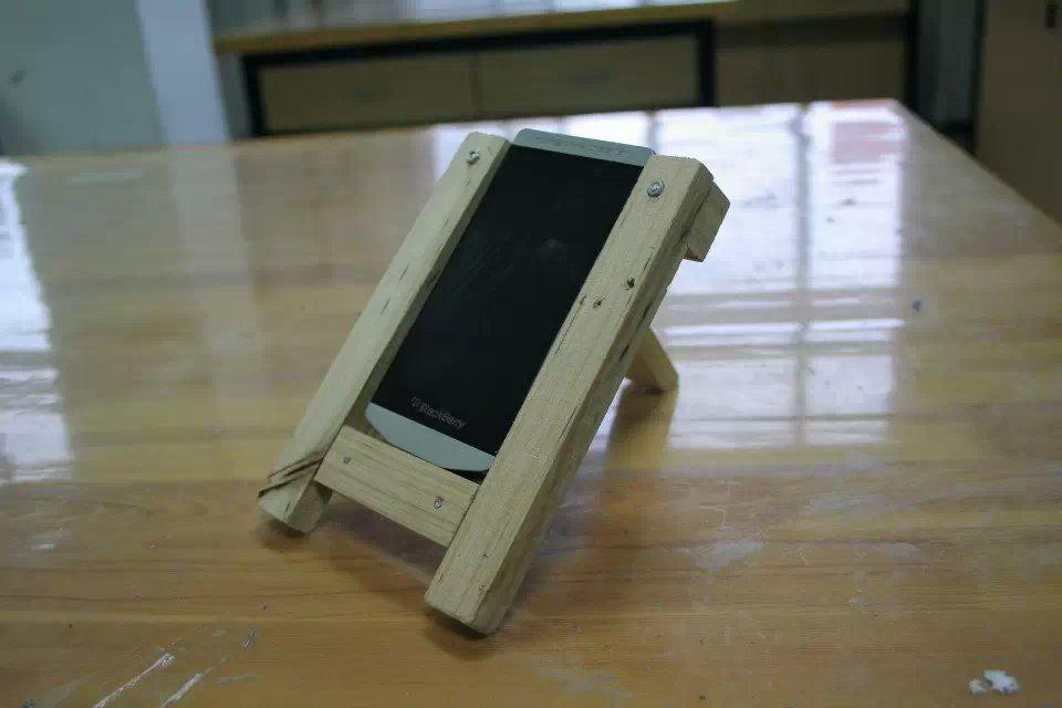手机支架制作展示